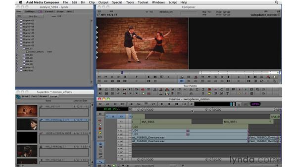 Creating freeze frames and motion effects: Migrating from Final Cut Pro 7 to Avid Media Composer 5.5