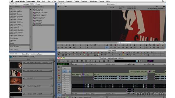 Using timewarp effects: Migrating from Final Cut Pro 7 to Avid Media Composer 5.5