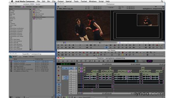 Using segment-based effects and nesting effects: Migrating from Final Cut Pro 7 to Avid Media Composer 5.5