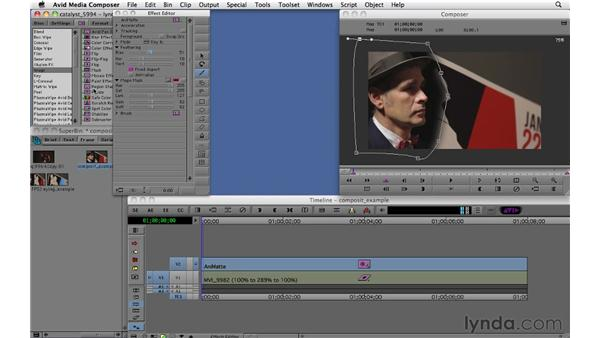 Compositing with keyframes: Migrating from Final Cut Pro 7 to Avid Media Composer 5.5