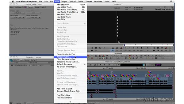 Preparing and outputting master sequences: Migrating from Final Cut Pro 7 to Avid Media Composer 5.5