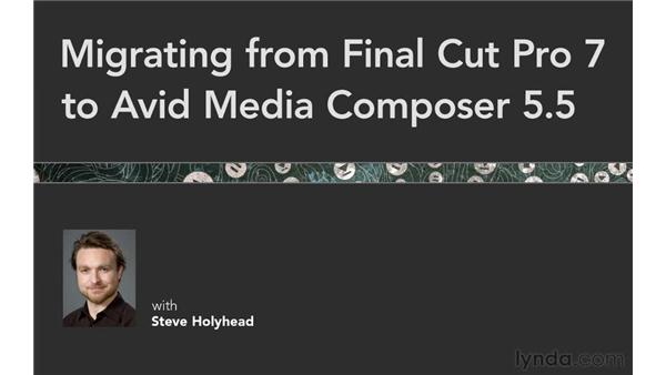 Additional resources: Migrating from Final Cut Pro 7 to Avid Media Composer 5.5
