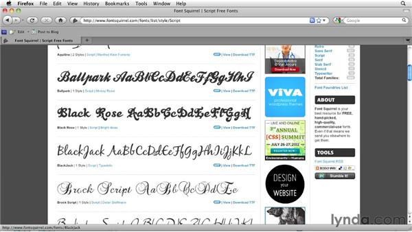 Choosing web fonts to convey meaning: Typography for Web Designers
