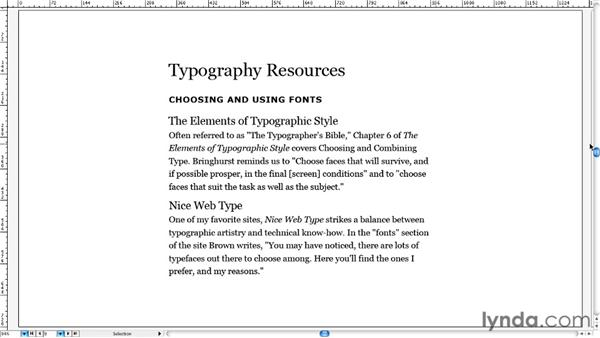 Developing a system of hierarchy: Typography for Web Designers
