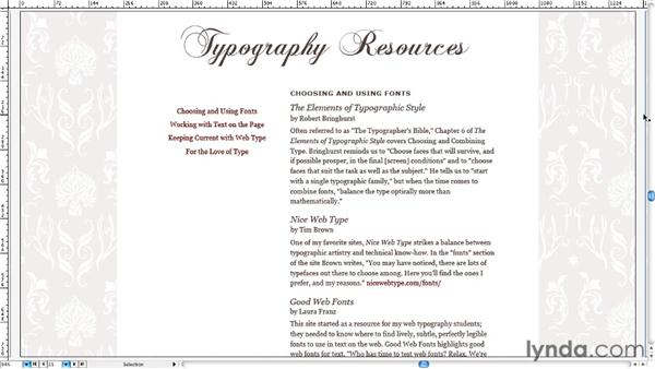 Shaping the traditional page layout: Typography for Web Designers