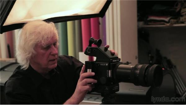 Shooting a profile portrait: Douglas Kirkland on Photography: Shooting with a Medium-Format Camera