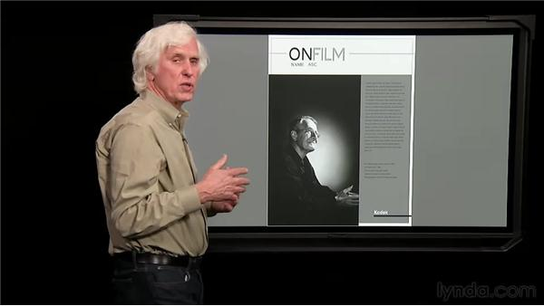 Composing an image for layout: Douglas Kirkland on Photography: Shooting with a Medium-Format Camera