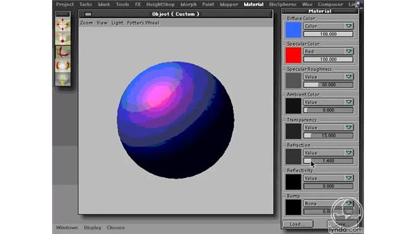 The Material Palette: Learning Amorphium Pro