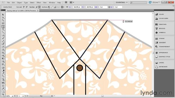 Using the Pen tool: Up and Running with Illustrator