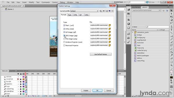 Publishing final files and images: Best Practices for Flash-based Banner Ads