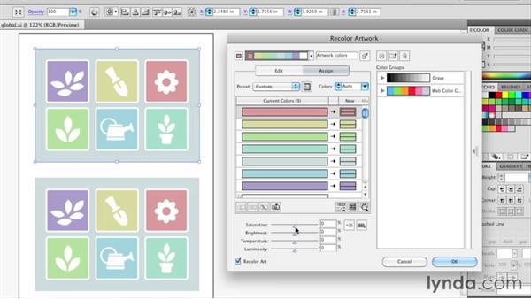 : Illustrator Insider Training: Coloring Artwork