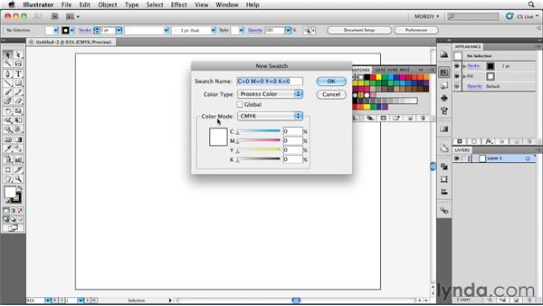 Getting to know the color models: Illustrator Insider Training: Coloring Artwork
