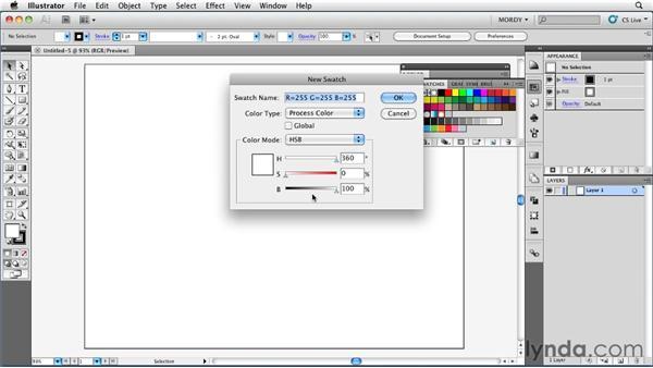Understanding how the HSB color wheel works: Illustrator Insider Training: Coloring Artwork
