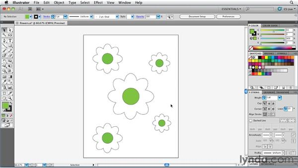 "Working with ""phantom"" colors: Illustrator Insider Training: Coloring Artwork"