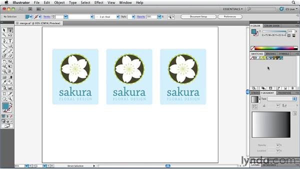 Replacing and merging color swatches: Illustrator Insider Training: Coloring Artwork
