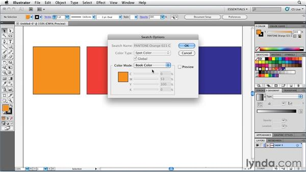 Understanding book color: Illustrator Insider Training: Coloring Artwork