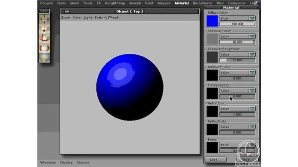 SWF Materials Settings: Learning Amorphium Pro