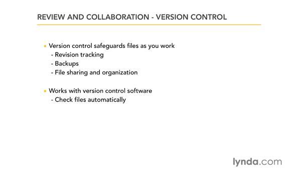 Understanding version control: RoboHelp 9 HTML Essential Training