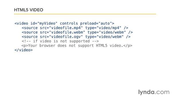 JavaScript in HTML5: JavaScript Essential Training