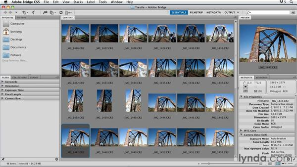 Workflow and organization: Shooting and Processing High Dynamic Range Photographs (HDR)