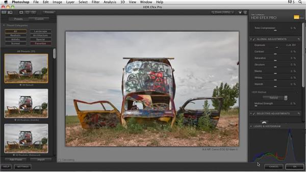 Creating an HDR in HDR Efex: Shooting and Processing High Dynamic Range Photographs (HDR)