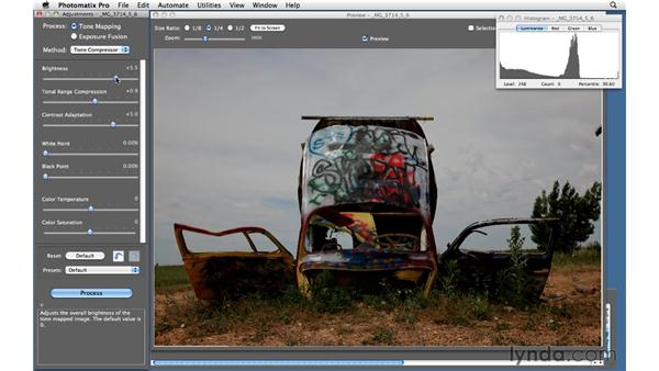 Using Tone Compressor in Photomatix: Shooting and Processing High Dynamic Range Photographs (HDR)