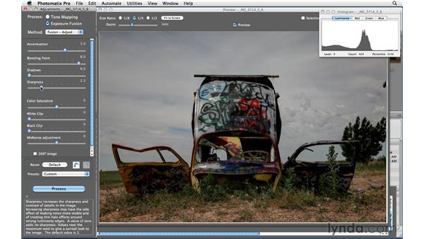 Using Exposure Fusion in Photomatix: Shooting and Processing High Dynamic Range Photographs (HDR)