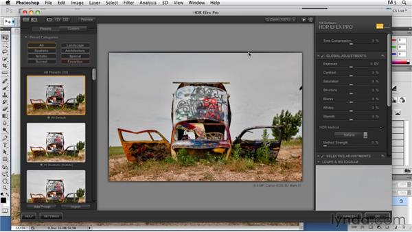 Single-shot HDR images in HDR Efex: Shooting and Processing High Dynamic Range Photographs (HDR)