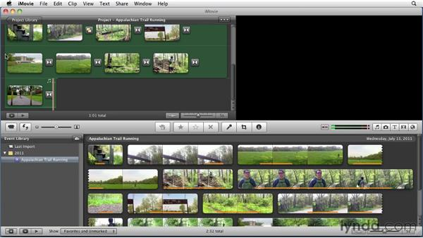 Editing a project in iMovie for the Mac that was created using iMovie for iPad: iMovie for iPad Essential Training