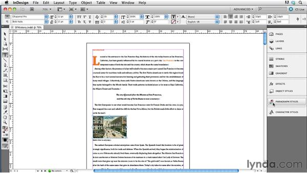 Mapping paragraph styles to CSS tags: InDesign CS5.5 to EPUB, Kindle, and iPad