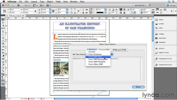 Adding alt tags to images in InDesign: InDesign CS5.5 to EPUB, Kindle, and iPad