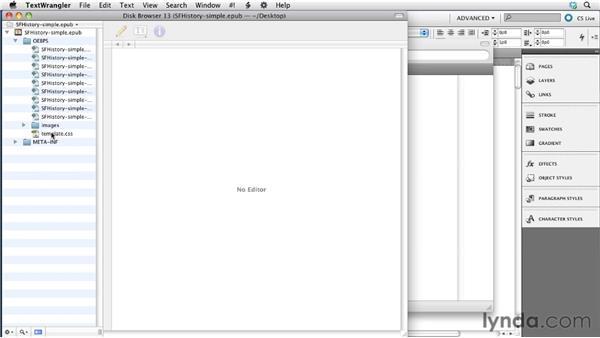 Adding and editing metadata: InDesign CS5.5 to EPUB, Kindle, and iPad