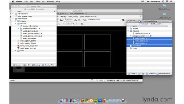 CSS tweaks and the Flash video player: Create an HTML5 Video Gallery with jQuery and Dreamweaver