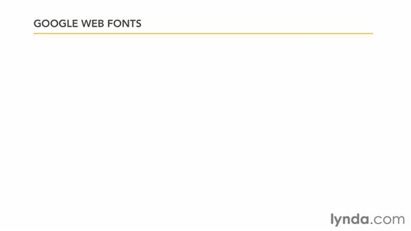 Exploring CSS3 typeface options: Typography with CSS in Dreamweaver