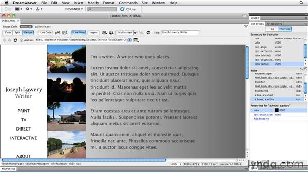 Using fixed positioning: Layouts with CSS in Dreamweaver