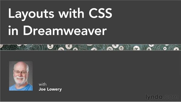 Goodbye: Layouts with CSS in Dreamweaver