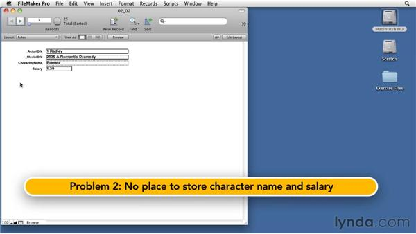 Adding a join table: Relational Database Design with FileMaker Pro