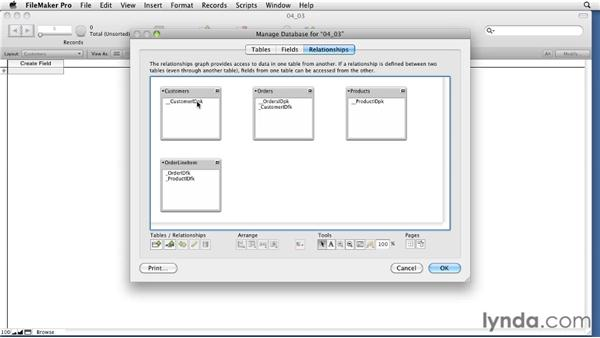 Introducing the Relationship Graph: Relational Database Design with FileMaker Pro