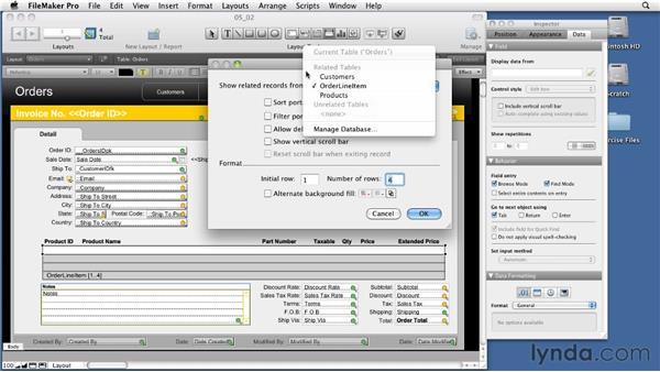 Understanding portals: Relational Database Design with FileMaker Pro