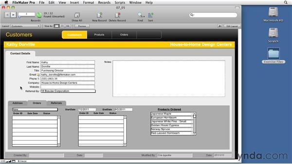 Creating self-relationships: Relational Database Design with FileMaker Pro