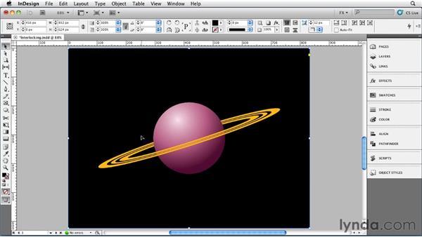 002 Creating Interlocking Objects: InDesign FX
