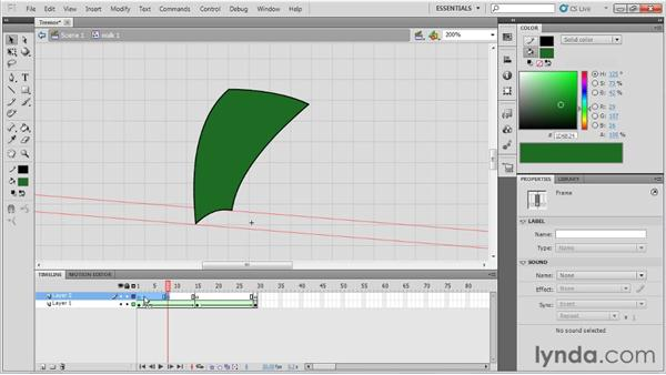 Animating a tremor: Animation Tips and Tricks with Flash Professional