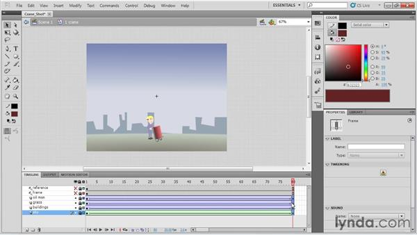 Animating a crane shot: Animation Tips and Tricks with Flash Professional