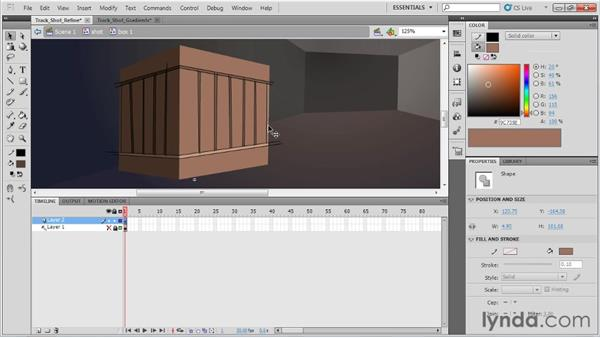 Lighting a 3D shot: Animation Tips and Tricks with Flash Professional