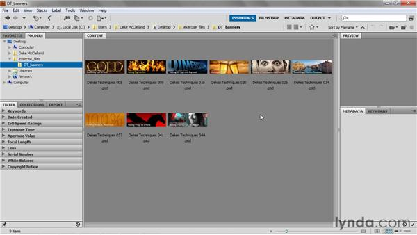 Starting an image: Up and Running with Photoshop for Design