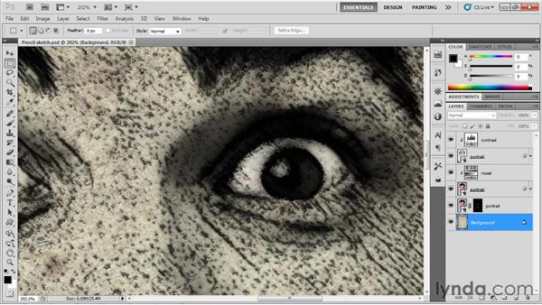 Getting around the image: Up and Running with Photoshop for Design