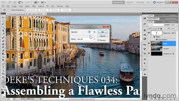 Applying a Smart Filter: Up and Running with Photoshop for Design