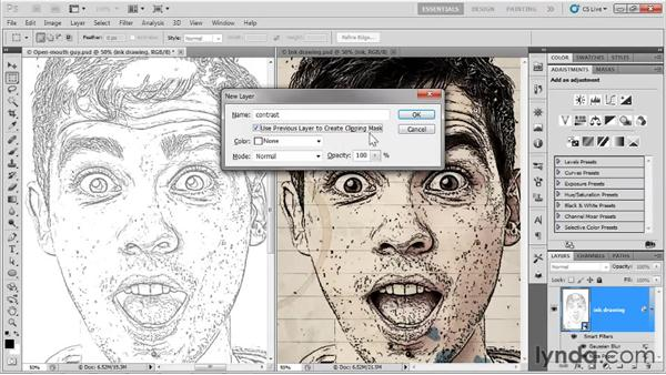 Creating a Smart Filter effect: Up and Running with Photoshop for Design