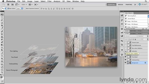 NDLP: A creative safety net: Digital Painting: Street Scene