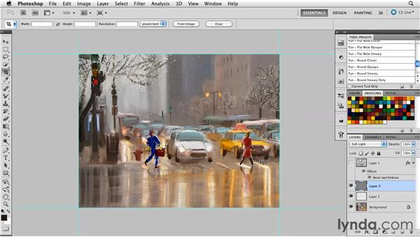 Examining your importance hierarchy: Digital Painting: Street Scene
